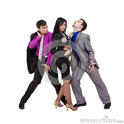 Sexy business team