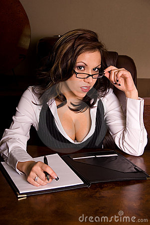 Free Sexy Business Woman. Stock Image - 5116281
