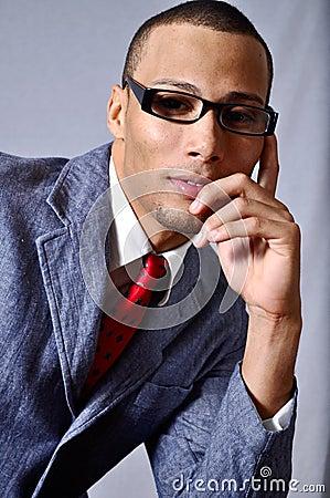 Sexy businessman