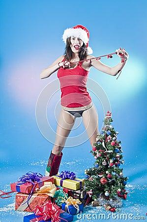 Sexy Christmas Female