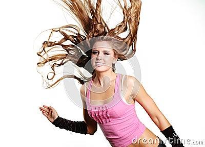 Sexy dancer girl