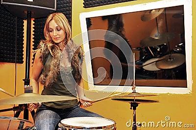 Sexy drummer