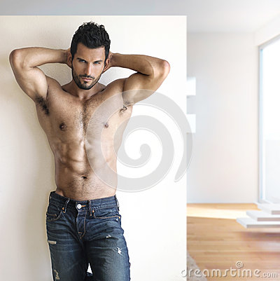 Free Sexy Dude Stock Image - 26108391