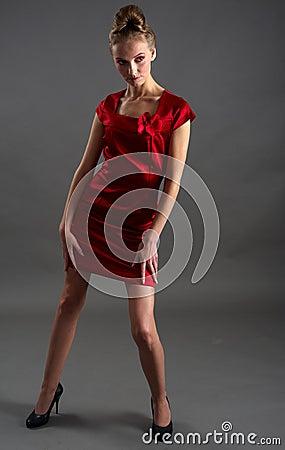 Sexy fashionable woman