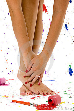 Free Sexy Feet And Hands Stock Photos - 897153