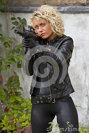 Sexy Female Agent Royalty Free Stock Photo Image 27333945