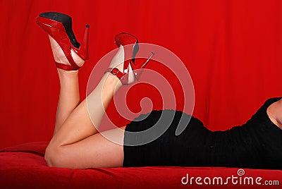 Sexy feminine curves.