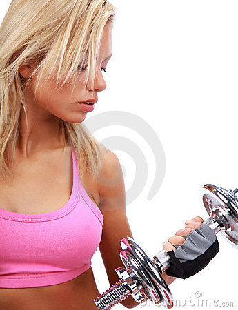 Sexy Fitness Girl Royalty Free Stock Photo - Image: 11738125