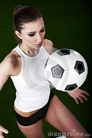 Sexy Football Player Royalty Free Stock Images - Image: 14267479