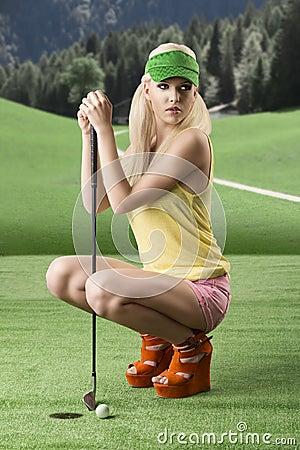 Thumb down golf something is