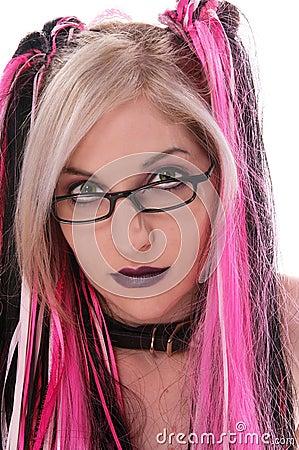 Sexy Goth Nerd