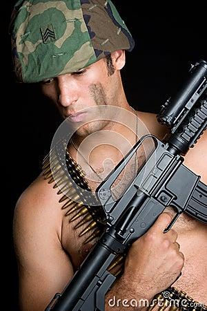 Sexy Gun Man