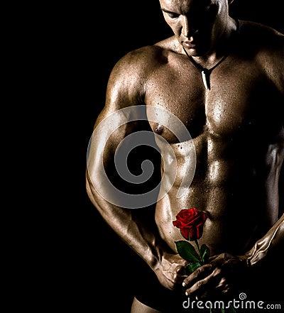 Free Sexy Guy Royalty Free Stock Photos - 27511768