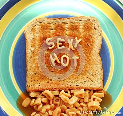 Sexy hot toast