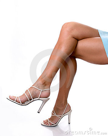 Free Sexy Legs In Heels Royalty Free Stock Photo - 991895