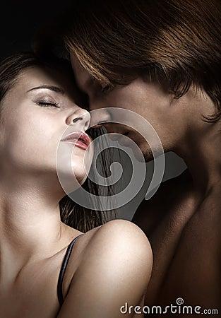 Sexy love couple