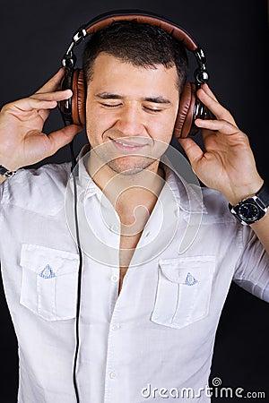 Sexy male DJ