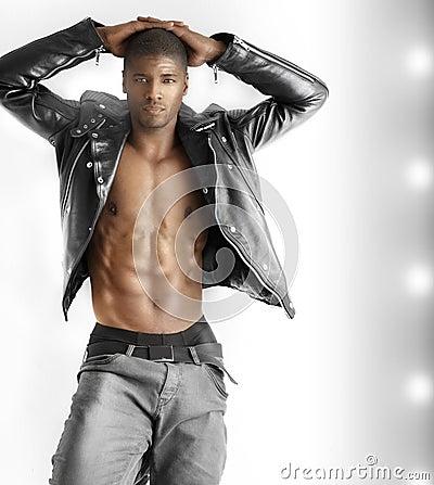 Free Sexy Male Model Stock Photo - 29059880