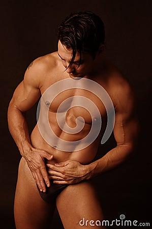 Sexy male in underwear 4