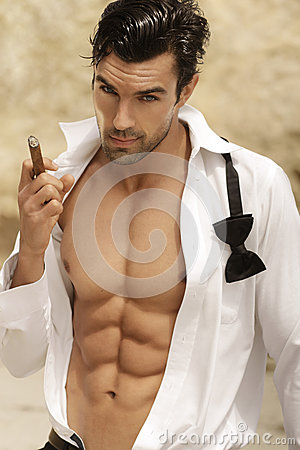 Free Sexy Man Stock Images - 25116054