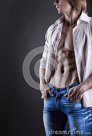 Free Sexy Man Royalty Free Stock Photo - 31761645