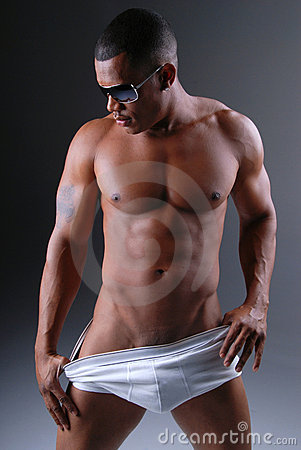 Free Sexy Man In Underwear. Royalty Free Stock Photo - 7474085