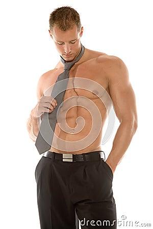 Free Sexy Man Thinking Royalty Free Stock Image - 2169296