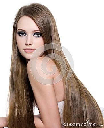 lang haar wit sexy