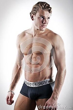 Free Sexy Men In Underwear Royalty Free Stock Photos - 13676448
