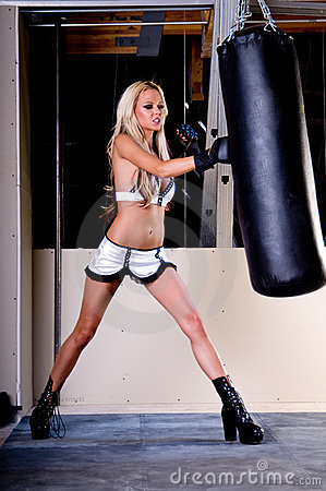 Sexy MMA Fighter