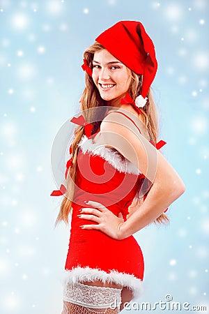 Sexy mrs. Santa