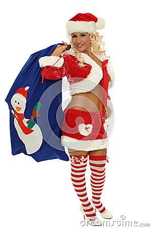 Sexy mrs santa clause