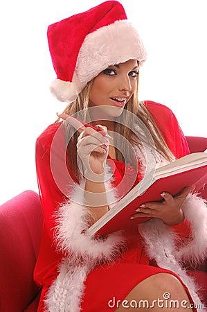 Sexy Mrs Santa;s List