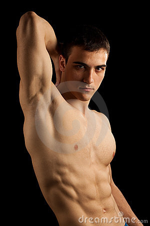 Free Sexy Muscular Man Royalty Free Stock Image - 11600346