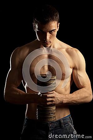 Free Sexy Muscular Man Stock Image - 11600371