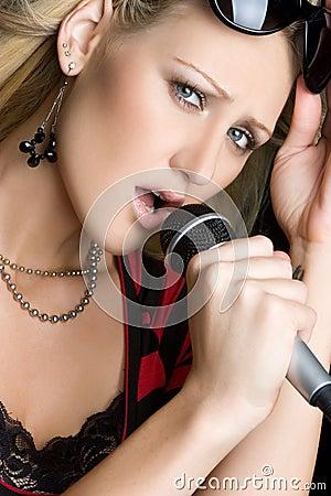 Sexy Music Woman