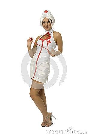 Sexy Nurse Editorial Stock Image