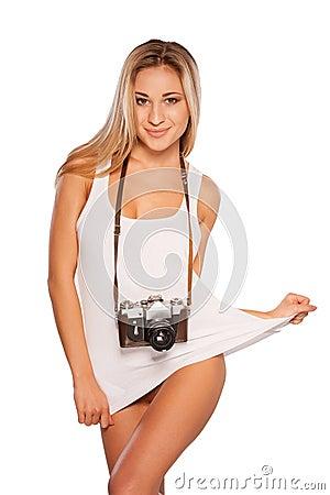 Sexy photographer.