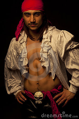 Free Sexy Pirate Stock Photography - 18976032