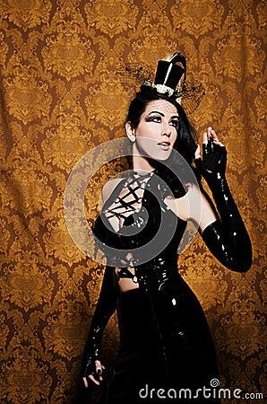 Sexy Retro Cabaret - Beautiful Femme Fatale