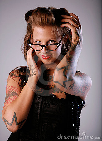 Sexy Rockabilly Girl