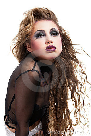 Rocker Girl Images & Stock Pictures. Royalty Free Rocker Girl ...