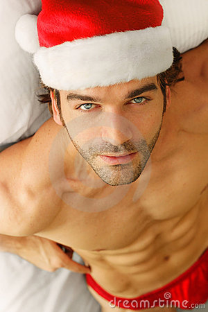 Free Sexy Santa Royalty Free Stock Photo - 17048205