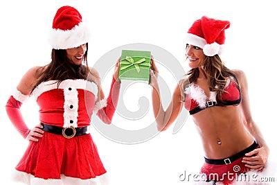 Sexy santa girls.