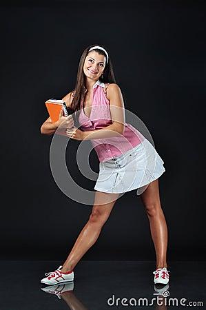 Free Sexy School Girl Stock Photo - 15947980