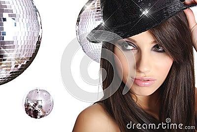 Sexy showgirl