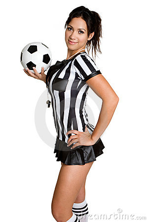 Free Sexy Soccer Referee Stock Image - 6567201