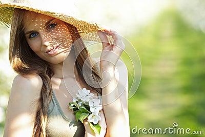 Sexy summer girl