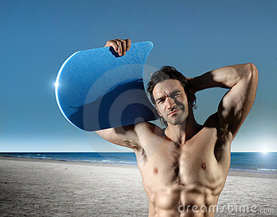 Sexy surfer guy