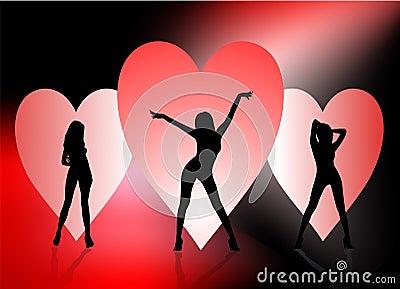 Sexy Valentine Background